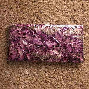 Silver & Purple Wallet